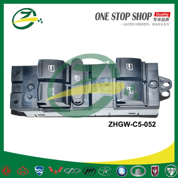 Window Power Master Switch For GreatWall VOLEEX C50 ZHGW-C5-052