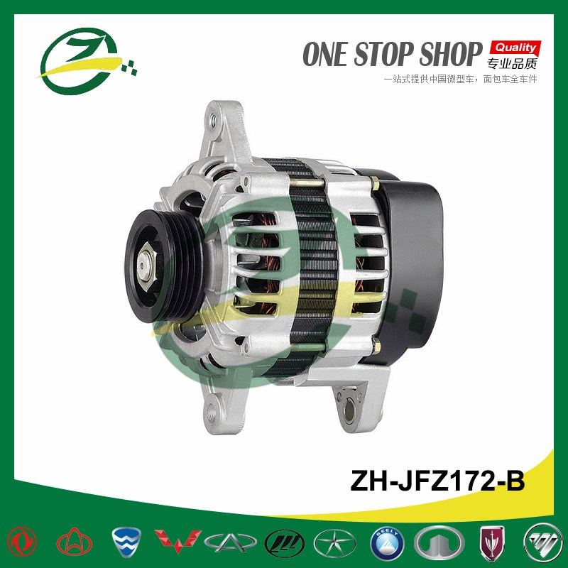 Alternator For Geely Meiri Haoqing MR7150 HQ378 Engine ZH-JFZ172-B