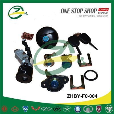 BYD F0 Car Lock and Key Set ZHBY-F0-004